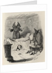 The Confession of the old woman clothed in grey by John Leech