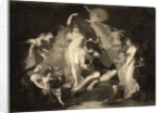 Scene from Act IV, Scene I of A Midsummer Nights Dream by Henry Fuseli
