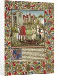 Guillaume de Mandeville, 3rd Earl of Essex, meets Richard the Lionheart by French School