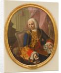 Portrait of Don Jose de Carvajal y Lancaster with the child, Mariano Sanchez, 1754 by Andres de la Calleja