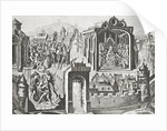 Imaginary election of St. Peter as Pope by English School