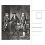 Johann Henry Jules Alexandre von Robaii, Baron de Kalb introducing Lafayette to Silas Deane by Alonzo Chappel