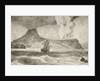 Krakatoa Island erupting in August 1883 by English School