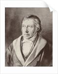 Georg Hegel by Unknown