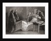 Death of St. Ignatius of Loyola by Spanish School