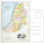 Canaan as it was divided between the twelve tribes of Israel by English School