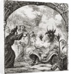 Illustration after George Cruikshank for the poem 'A Lat of St. Nicholas' by English School