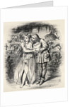 Illustration after J. Tenniel for the poem 'Sir Rupert the Fearless', a legend of Germany by English School