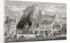 Castle and Grassmarket, Edinburgh, Scotland by English School