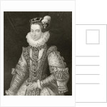 Anna of Austria by English School