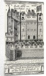Bristol Castle, after James Millerd's map of Bristol from 1673 by English School