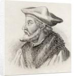 Paolo Giovio by English School