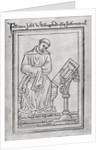 John of Wallingford by Matthew Paris