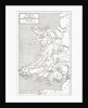 Map illustrating the Welsh wars of William Rufus and Henry I by English School