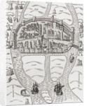 Cork, County Cork, Ireland in 1633 by English School