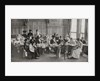A ladies Red Cross sewing meeting in Claridge's Hotel by English Photographer