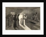 Arminio Vambery received in audience by the Khan of Khiva, Uzbekistan, Central Asia, during his travels there in 1863 by Emile Antoine Bayard
