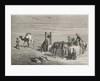 A well in the desert between Samarkand and Karshi, Uzbekistan by Emile Antoine Bayard