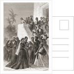Kamehameha V, centre, with his family by Emile Antoine Bayard