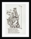 The Prophet Isaiah, holding the saw with which some say he was martyred, after a 15th century work by French School