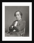 Benjamin Disraeli, 1st Earl of Beaconsfield by English School