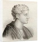 Quintus Horatius Flaccus by English School