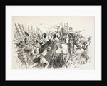King Henry's forces at the siege of Harfleur, France by Sir John Gilbert