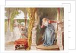 Sigh no more, ladies, sigh no more by Sir John Gilbert