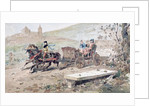 16th Century Horse Drawn Open Carriage by Armand Jean Heins
