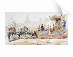 Horse Drawn Decorated Wagon carrying Professional Musicians, 16th Century by Armand Jean Heins
