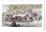 17th Century Transport Scene by Armand Jean Heins
