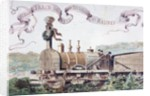Picture Celebrating the First Train from Brussels to Mechlin in 1835 by Armand Jean Heins