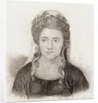 Anna Seward by English School