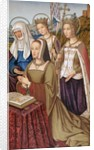 Anne of Brittany by English School