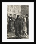 Nicholas Ridley on the way to his Execution by English School