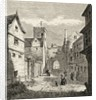 The North Gate and Bocardo Prison, Oxford by English School