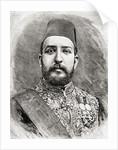 HH Muhammad Tewfik Pasha, Tawfik of Egypt by English School