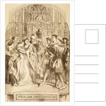 Illustration for Much Ado About Nothing by Sir John Gilbert