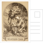 Illustration for The Winter's Tale by Sir John Gilbert