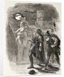 Hamlet, Horatio and Marcellus see the Ghost by English School