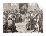 The Council of Vienne by French School
