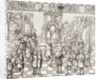 Pope Urban II presiding over the Council of Clermont in 1095 by French School