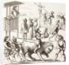 Allegorical picture of Excesses said to have been committed by the Huguenots by French School
