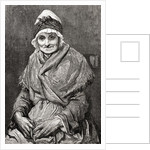 After a drawing done in 1880 by Gustave Dore of his nurse Francoise by Anonymous