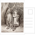 Scene from Little Red Riding Hood by Charles Perrault by Anonymous