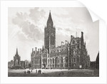 Manchester Town Hall, Manchester, England in the late 19th nineteenth century by Anonymous