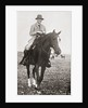 The Prince of Wales, later King Edward VIII, in Canada, riding on the Bar U Range Ranch in 1923 by Anonymous
