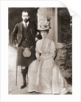 The Prince of Wales, later King George V, with his wife Mary of Teck in 1909 by Anonymous