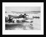German seaplane used in the North Sea to track English naval movement during the First World War by Anonymous