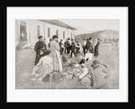Group of Spanish citizens repatriated from France to Irun, Spain, in 1914, during the First World War by Anonymous